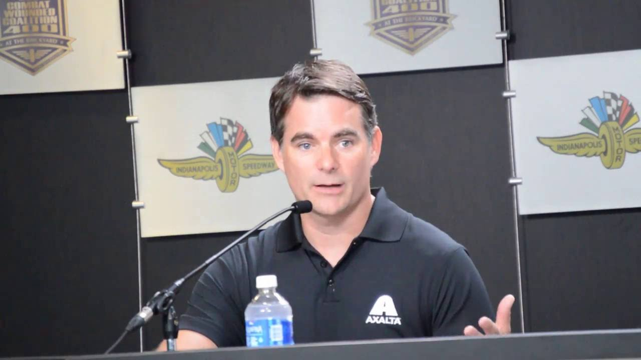 Jeff Gordon Out of Retirement Press Conference - YouTube