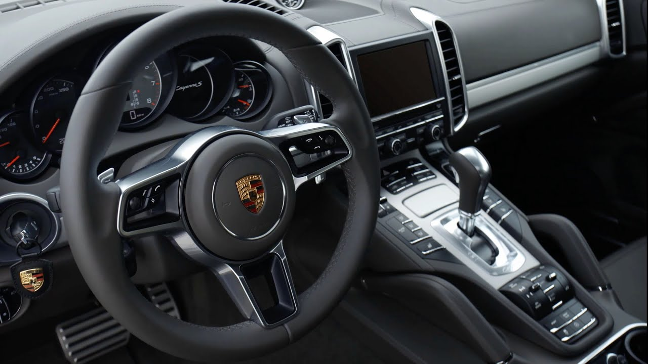 Porsche Cayenne S (2015) Interior - YouTube