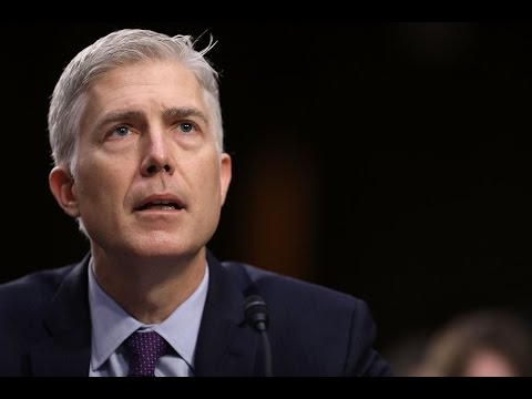 Gorsuch tells Senate that Trump didn