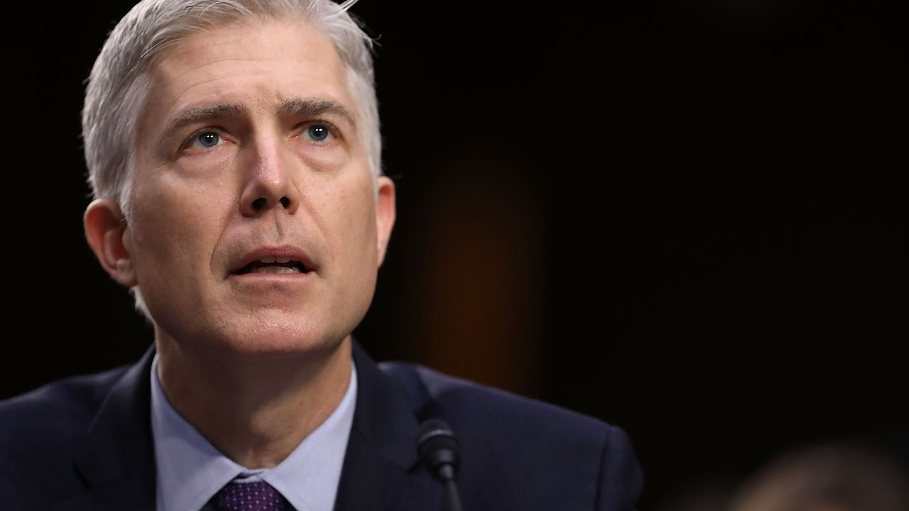 Gorsuch tells Senate that Trump didn't ask him to overturn Roe v. Wade