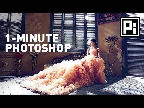 Trick To Create Amazing Vignettes | 1-Minute Photoshop (Ep. 9)