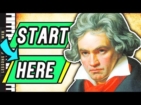 The Easiest Pieces by Beethoven you Should Learn First on Piano
