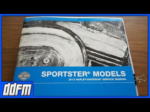 🔴LIVE: What is In The Harley Sportster Service Manual / Q&A