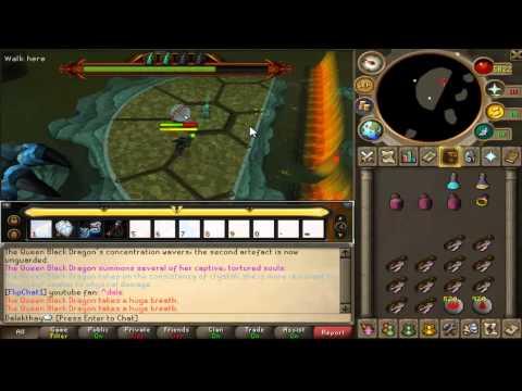 Runescape's hardest bosses ep  5 - QBD (again) No antifire pots - As requested