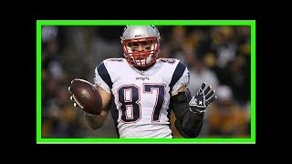 Rob Gronkowski says he wont be at Patriots workouts because he has dirt biking skills to work on
