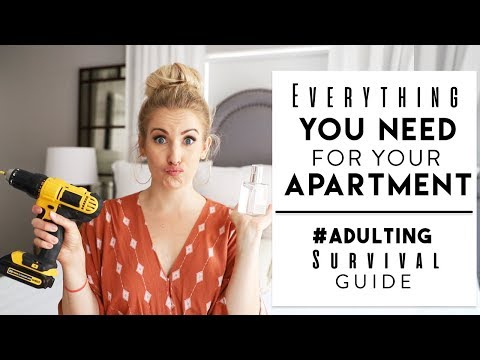 ADULTING SURVIVAL GUIDE   Stuff You NEED In Your First Apartment!