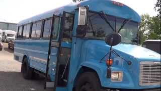 Northwest Bus Sales - 2005 Thomas Freightliner 7 Row Commerical Bus For Sale - B19954