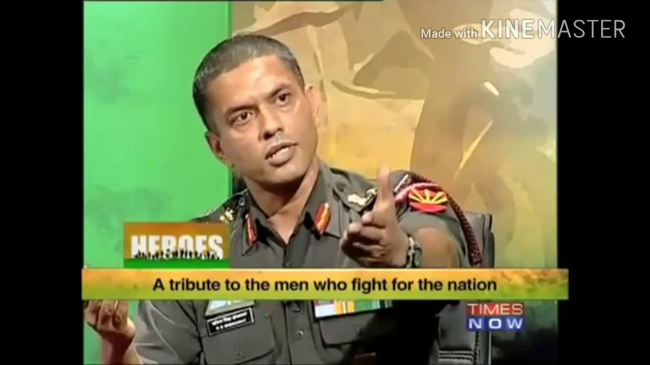 Colonel S S Shekhawat Most Decorated Serving Officer Of Indian Army