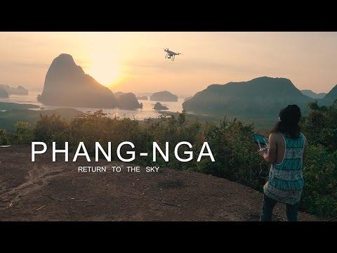 PHANG-NGA - Return to the Sky from Drone