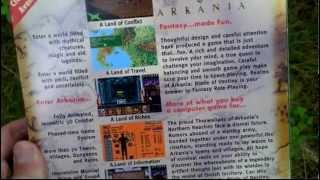 Realms of Arkania Blade of Destiny Unboxing (PC) ENGLISH