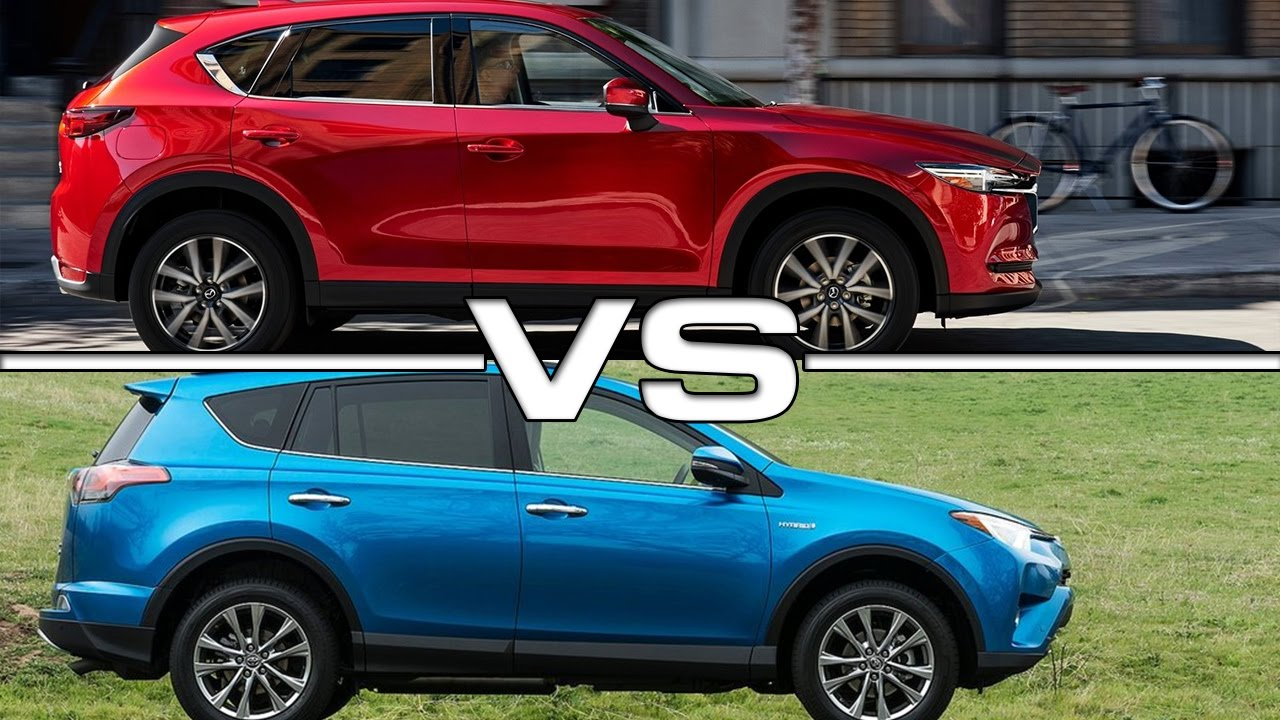 2017 Mazda Cx 5 Vs 2016 Toyota Rav4