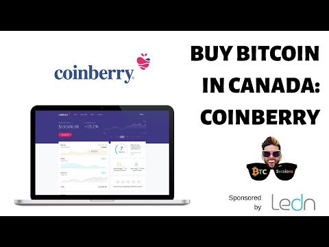 How To Buy Bitcoin In Canada Using Coinberry ($20 Free With 1st Purchase)