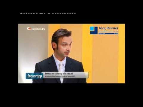 Die Stiftung - Steuerberater Aachen Jörg Reimer bei Center TV