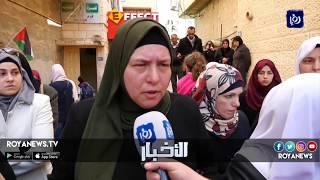 عائلة جرار تعتصم أمام مقر الصليب الأحمر لمطالبة الاحتلال بالإفراج عن جثماين شهدائها - (23-2-2018)