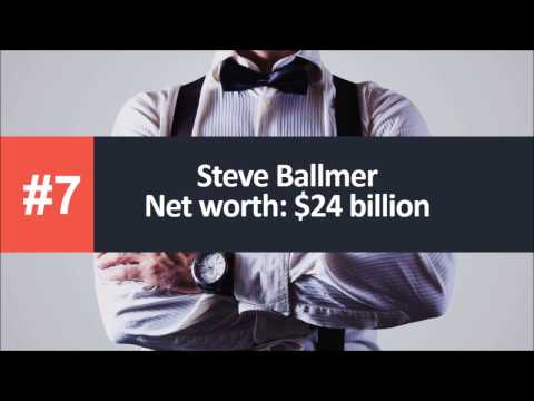 Top 7 Richest Tech Billionaires In The World Today