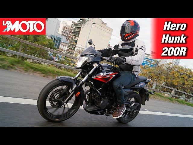 Al detalle: Hero Hunk 200R