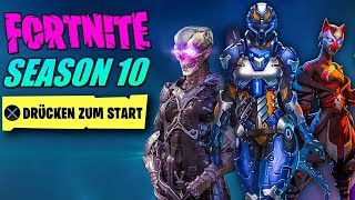 IT STARTS NOW 🔥 Fortnite Season 10 - Trailer, Battle Pass, Skins, Leaks all info | German