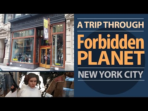 Forbidden Planet - FUN Store in NYC - Sci-Fi, Comics, Movies, Star Wars, Trek, Collectibles