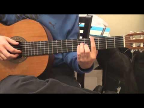 How To Play Ai Se Eu Te Pego - Michel Telo On Guitar Tutorial