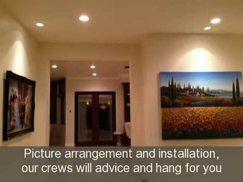Home and Art Picture hanging los angeles 1 15 14