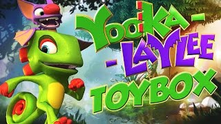 YOOKA-LAYLEE ★ Toybox 100% ★ Alle 100 Quills + Secrets! [HD60] Let's Play Yooka-Laylee