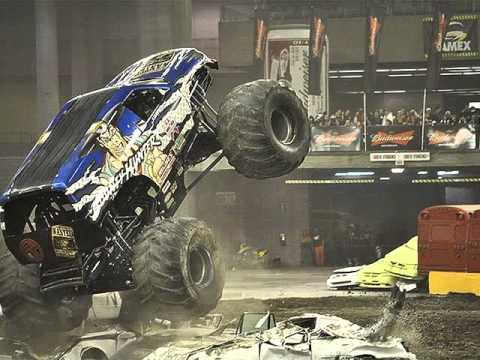 Monster Trucks In Action