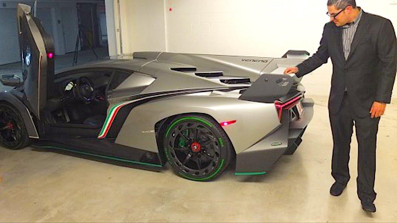 The Worlds Most Expensive Lamborghini Veneno *$12 Million Dollars*