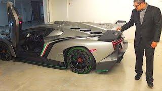 The Worlds Most Expensive Lamborghini Veneno *$8 Million Dollars*