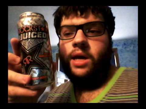 Deadcarpet Energy Drink Reviews - Tropical Passionfruit Rockstar Juiced Energy Drink