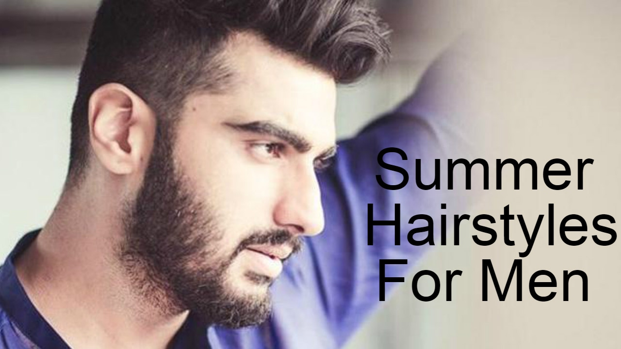 Top Fashionable Hairstyles For Men 2017 2018 Best Trendy: Top 12 Best Stylish Summer Hairstyles For Men 2017-2018
