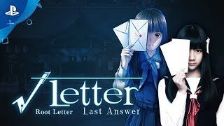 Root Letter: Last Answer - Announcement Trailer | PS4