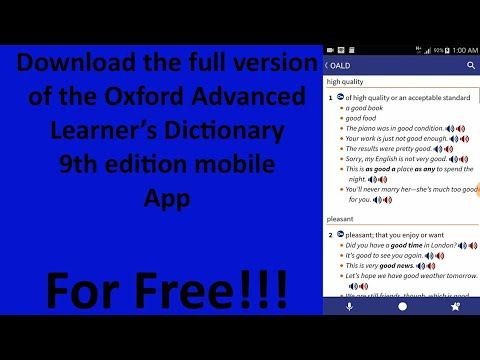 how to install oxford advanced learner dictionary 9th edition