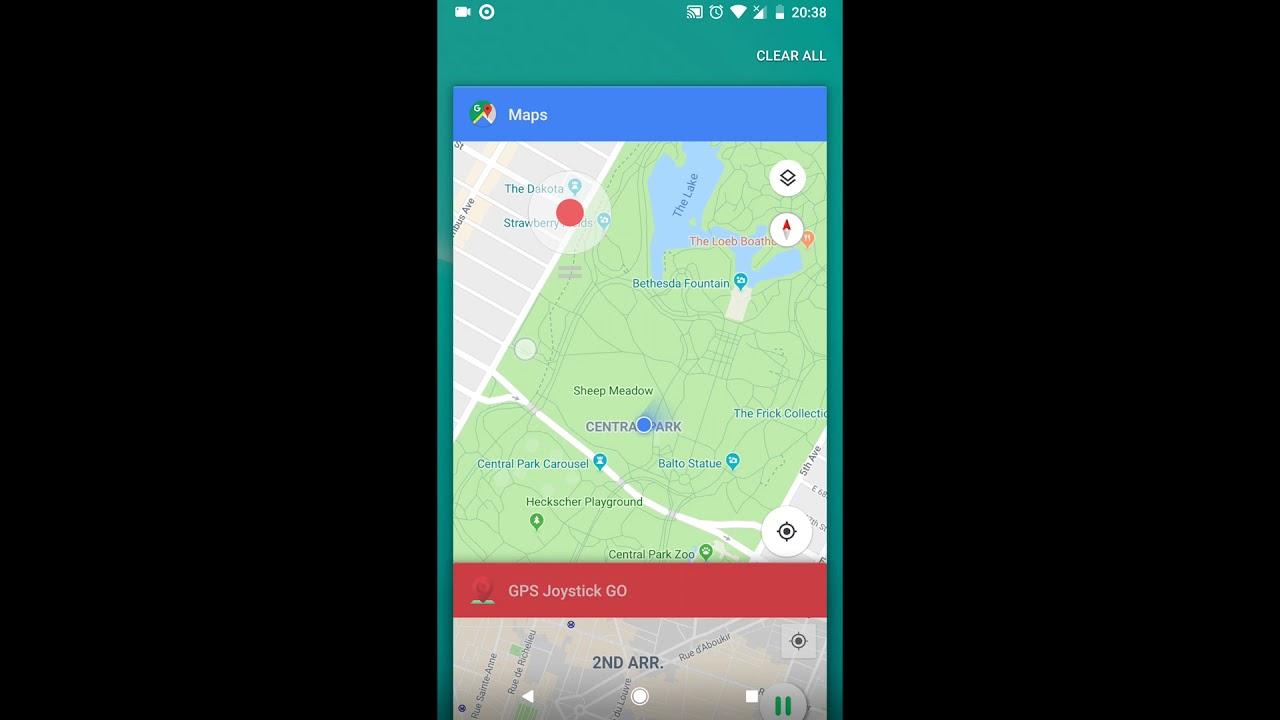 GPS Joystick GO - Fake GPS Location - YouTube