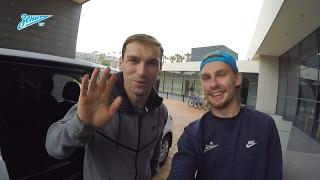 Видеоблог «Зенит-ТВ»: как Иванович прилетел в расположение команды