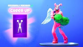 *NEW* CHEER UP DANCE EMOTE.! (FREE Item Shop TOY) Fortnite Battle Royale