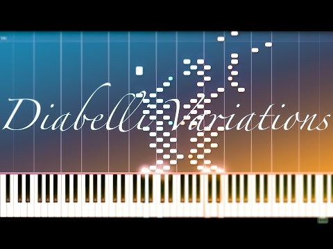 Diabelli Variations // BEETHOVEN [Piano Tutorial] (Synthesia)