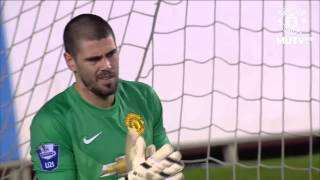 The first match for Manchester United Valdes (Первый матч Вальдеса за МЮ)