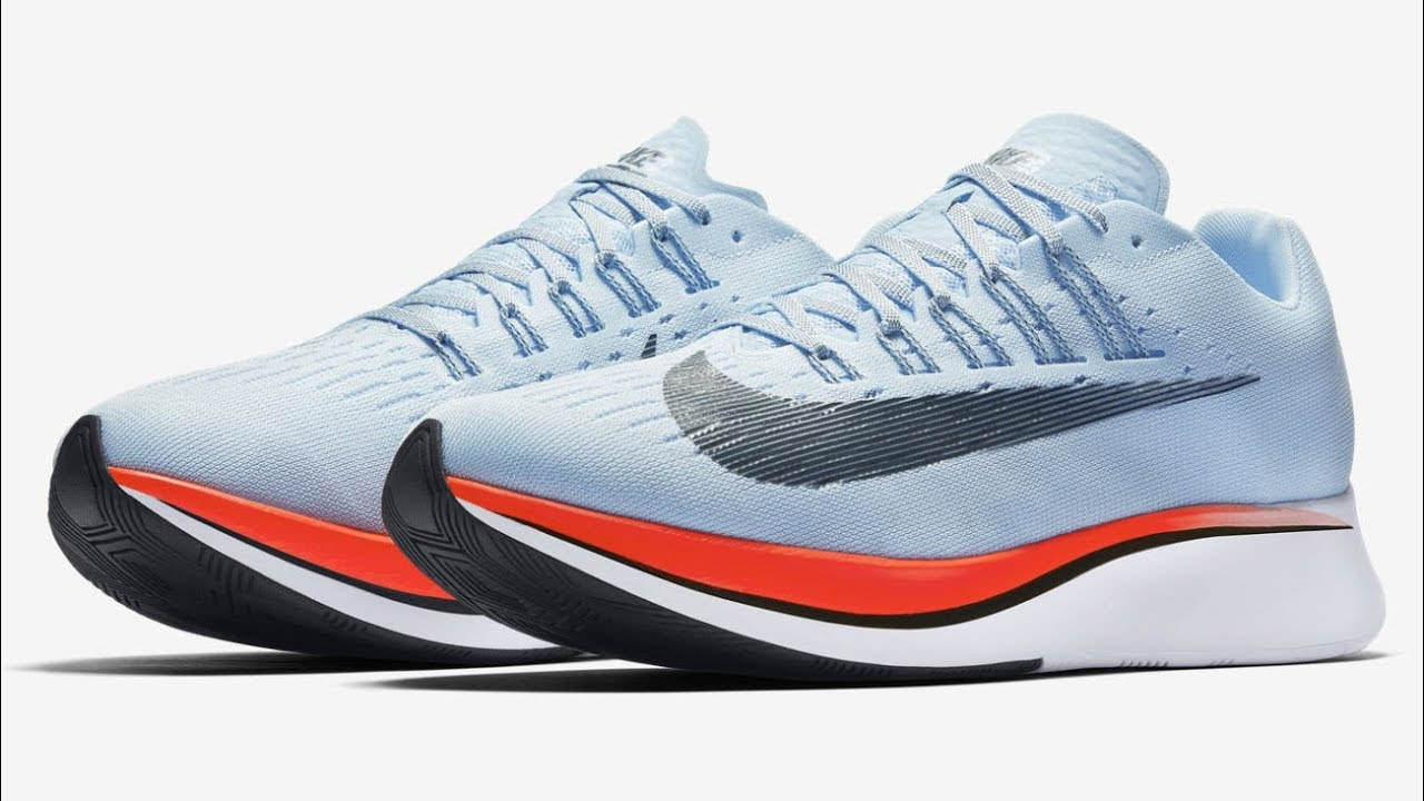 f841a62ad383 Nike Zoom Fly Men s Running Shoe (Ice Blue Bright Crimson University Red Blue  Fox) 4K