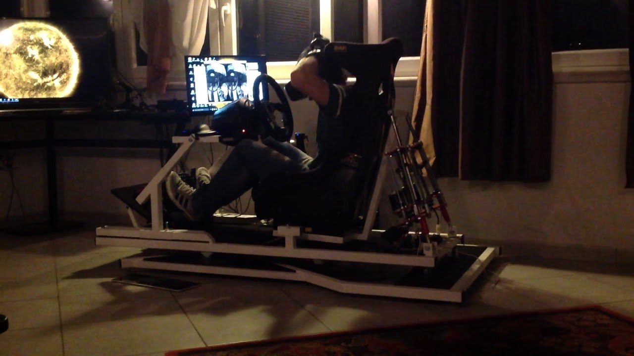 Dirt Rally - RSI Motion 3x - X-sim Motion Simulator - (3 Dof) - DIY Linear  actuators