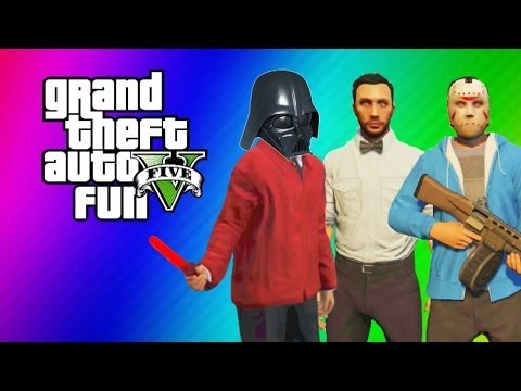Thumbnail: GTA 5 Online Funny Moments Gameplay - Lightsaber Dildo, Gate Glitch, Invincibility from Hookers!