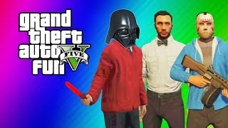 gta 5 online funny moments gameplay lightsaber dildo gate glitch invincibility from hookers