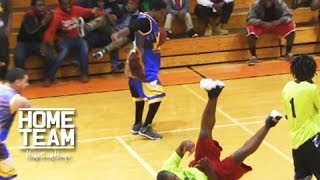 Hot Sauce Makes Defender SIT DOWN With Nasty Crossover!! Shuts Down The Gym... Court Kingz