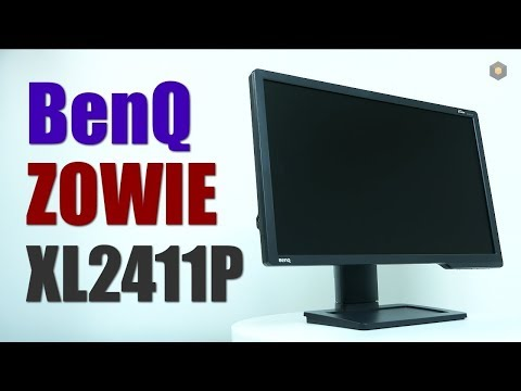 Монитор BENQ XL2411P Настройка