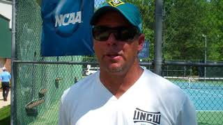 Mait Dubois Postgame - NCAA Regionals Tennessee (May 12, 2018)