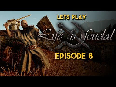 Life is Feudal Your Own | Let's Play | Trying to find a sow, leads us to Boris the Bear!
