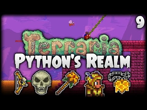 Terraria Let's Play (1.3.5) | Python, The Master Of The Bees! | Python's Realm [S2 - Episode 9]