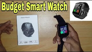 Short Review of a BT Smartwatch | U8 | + Setup In Hindi