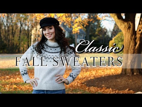 7 CLASSIC FALL SWEATERS (Under $100!)