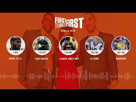 First Things First audio podcast(4.4.18) Cris Carter, Nick Wright, Jenna Wolfe | FIRST THINGS FIRST