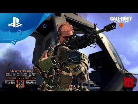 Call of Duty: Black Ops 4 - Blackout PS Plus Demo [PS4, deutsch] thumbnail